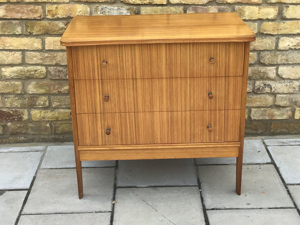 1950's  small chest of draws