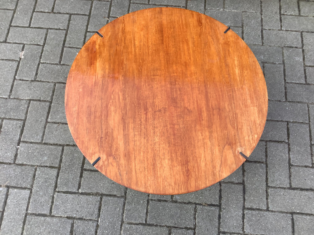 1950's round coffee table