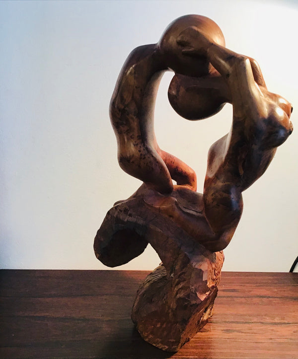 1970s wooden  Figurative  Sculpture.  SOLD