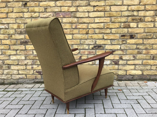 1950's French bedroom armchair