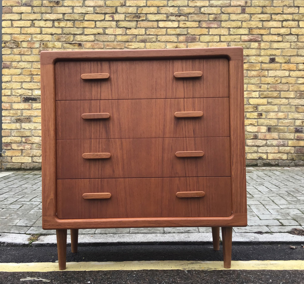 1960's Danish chest of draws