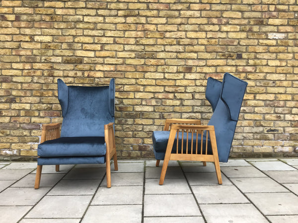 1950's Czech Republic armchairs SOLD