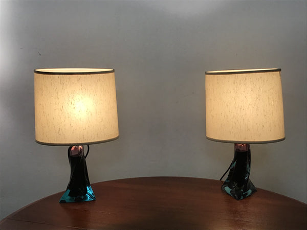 Murano Glass Table Lamp, 1960s SOLD