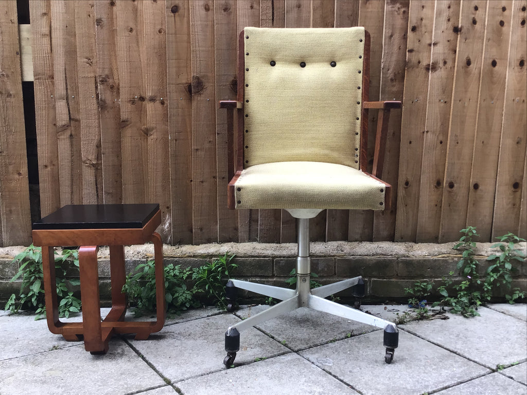 1960's swivel  chair SOLD
