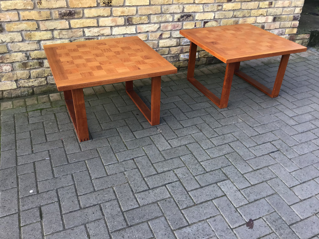 A Pair of Poul Cadovius coffee tables