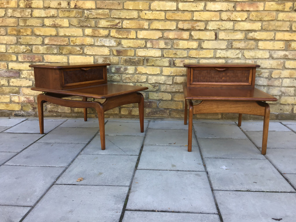 A pair of Lane Altavista side tables