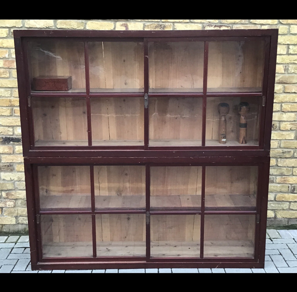 Vintage Japanese display cabinet SOLD