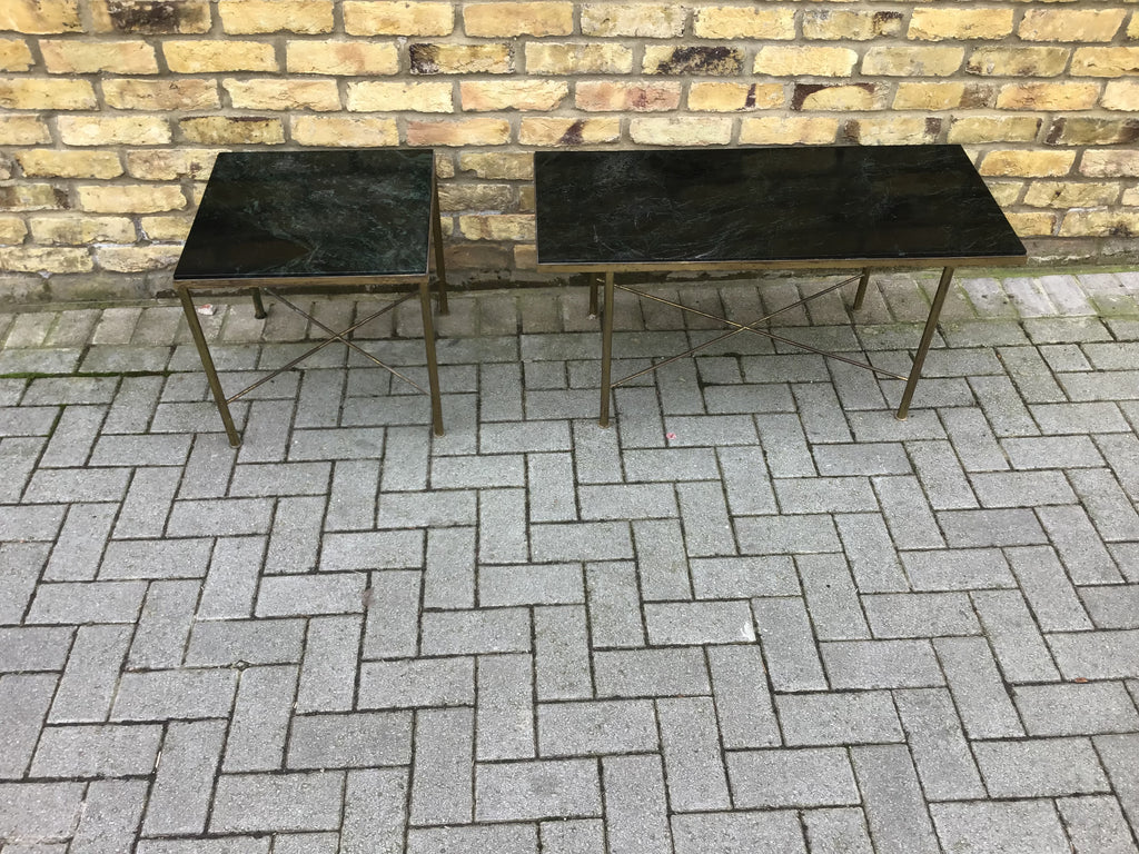 Pair of 1950's French side tables
