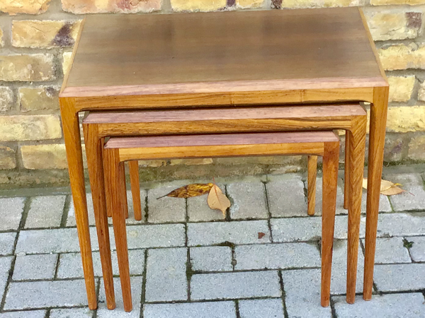 1960's JOHANNES ANDERSEN Nest of tables
