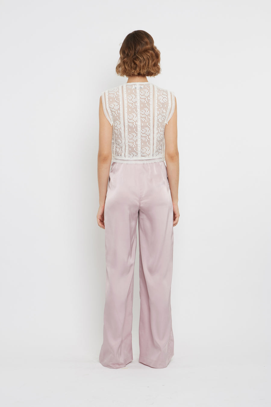 High-waist Tailored Pant