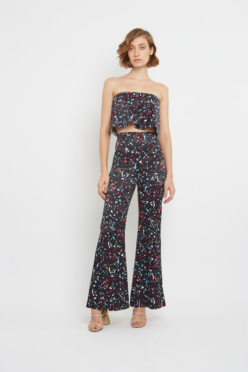 PRINTED FABRIC Pants
