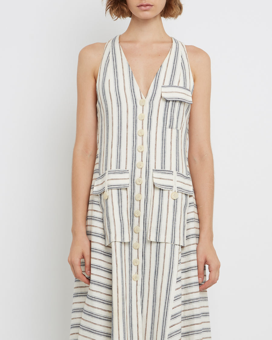 Striped Pocket Sundress