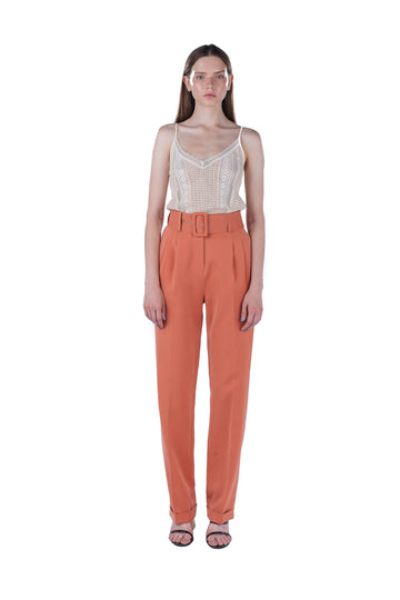 High-waist Tapered Pant