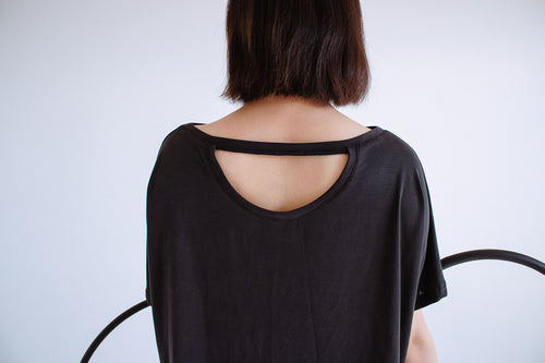 Hugo circle top, enso black