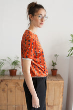 Load image into Gallery viewer, Vintage sweater short orange Gina