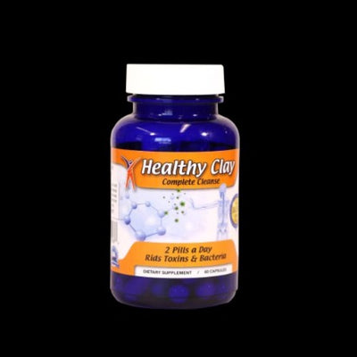 Healthy Oregon Blue Clay Complete Detox Cleanse Capsules