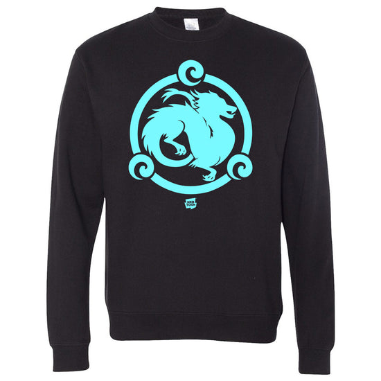 Azure Dragon Crewneck Sweater