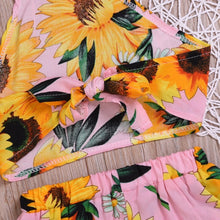 Load image into Gallery viewer, Sunflower Halter Set