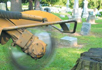 Phantom Wheel Stump Grinder Wheels Tight Spots Image