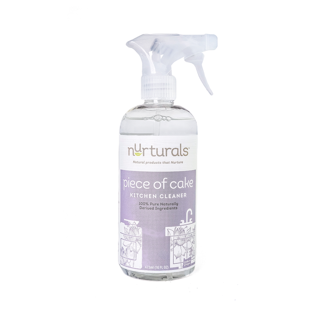 Non-Toxic Eco-Friendly Kitchen Cleaner, Piece of Cake from Nurturals