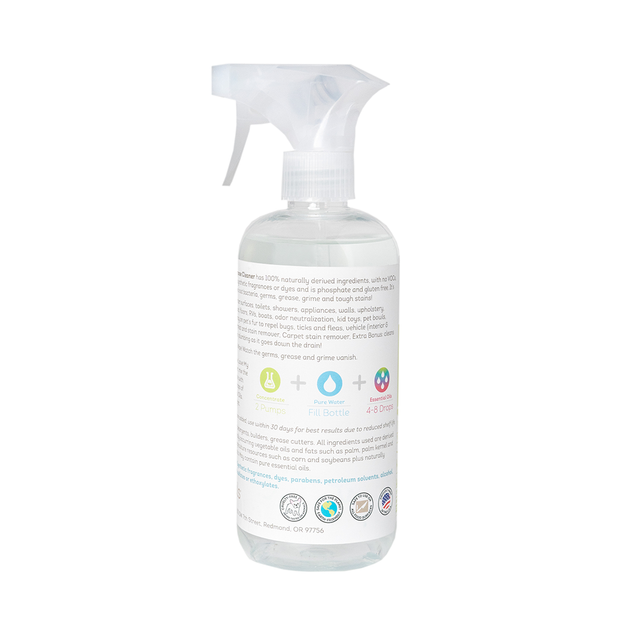 Nurturals Kit & Kaboodle Eco-Friendly Non-Toxic All Purpose Cleaner