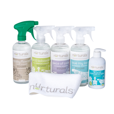Hypoallergenic Starter Set from Nurturals non toxic cleaning products made in Oregon