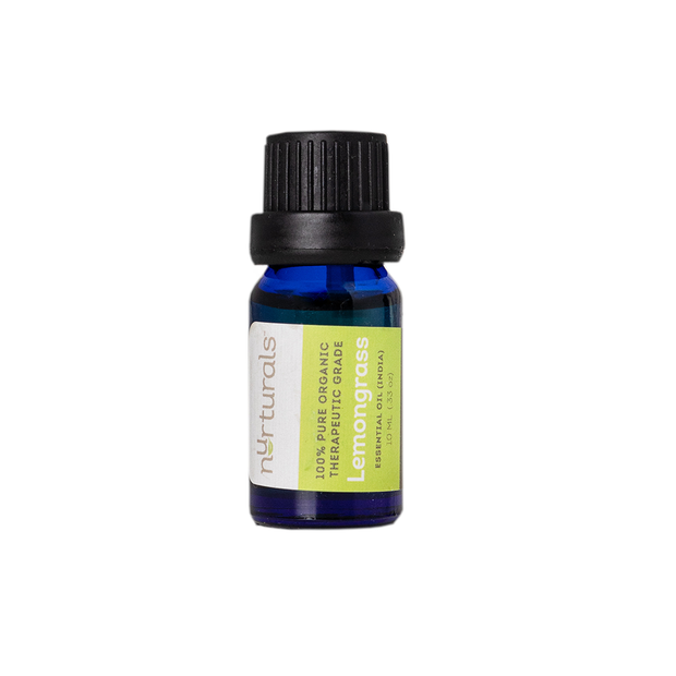 Organic Therapeutic Grade Lemongrass Essential Oil