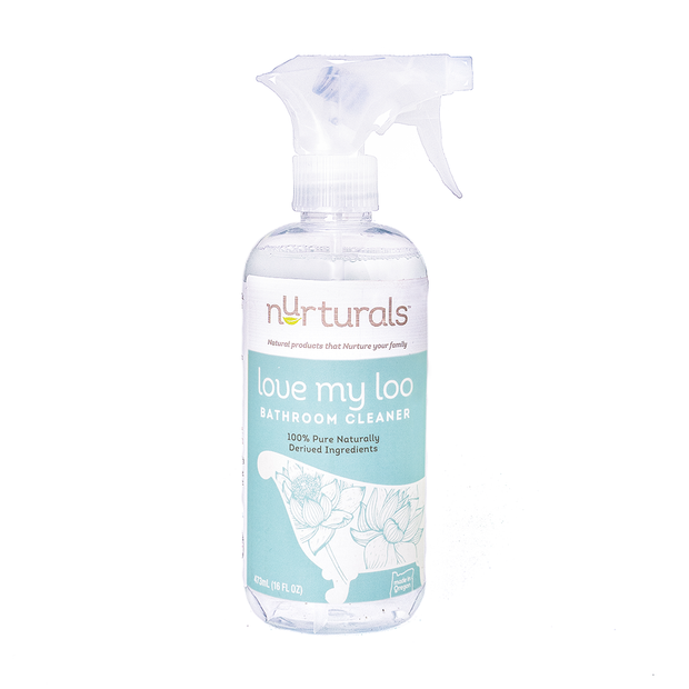 Eco-Friendly Non-Toxic Bathroom Cleaner, Love My Loo from Nurturals
