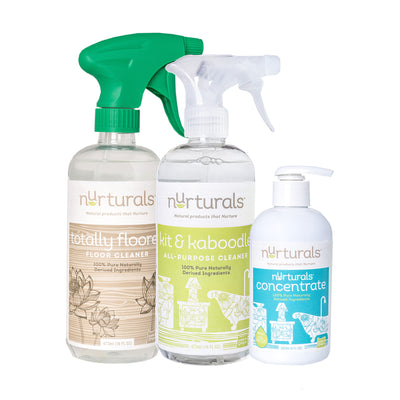 Try It Set of Nurturals Non-Toxic Eco-friendly Cleaning Supplies