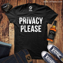 Privacy Please T-Shirt