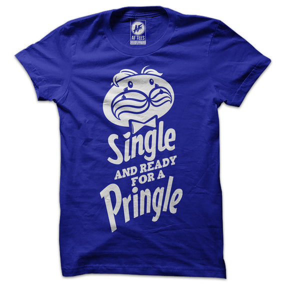 Single and Ready for a Pringle T-Shirt