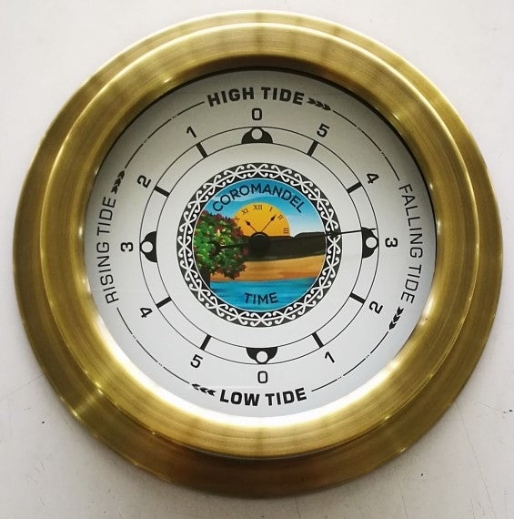 Tide Clock by Coromandel Time New Zealand