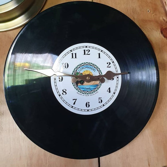 Record Clock by Coromandel Time