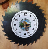 Saw Blade Clocks by Coromandel Time