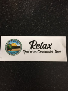 Coromandel Time Bumper Sticker Free Shipping