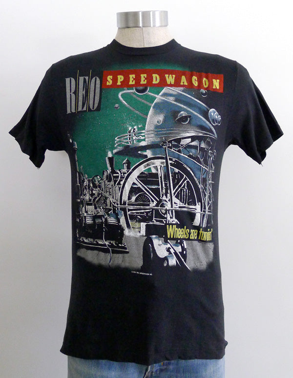 REO Speedwagon Wheels Are Tourin' 84-85 Tour T-Shirt
