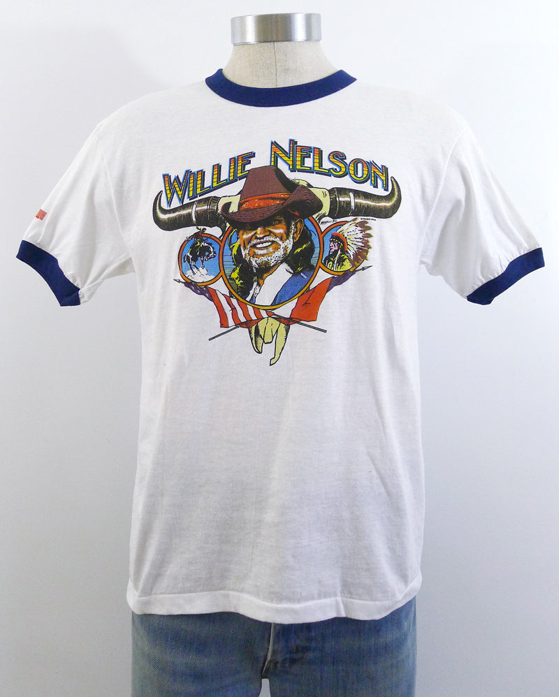 Willie Nelson Family Tour Ringer Shirt