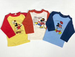 Mickey Mouse Raglan Shirts