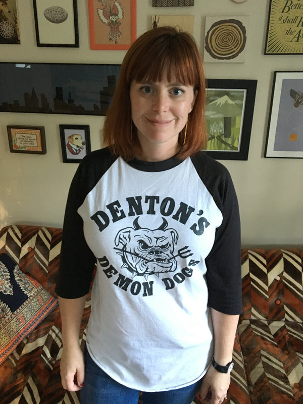 Denton's Demon Dogs Raglan