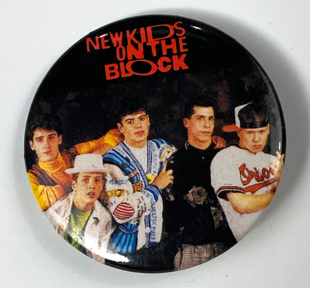 New Kids on the Block Pin