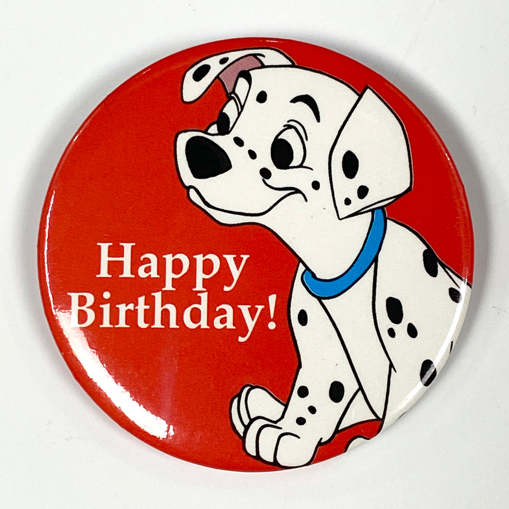 101 Dalmations Birthday Pin