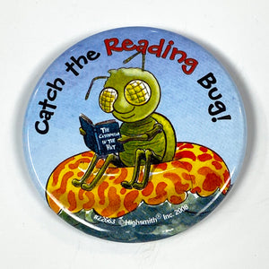 Catch the Reading Bug Pin