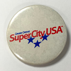 Greater Detroit, SuperCity USA Pin
