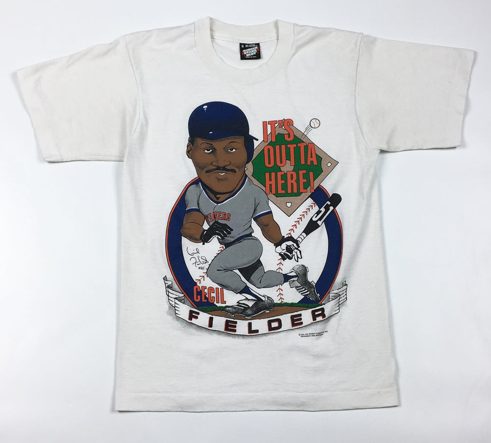 Cecil Fielder Detroit Tigers T-Shirt