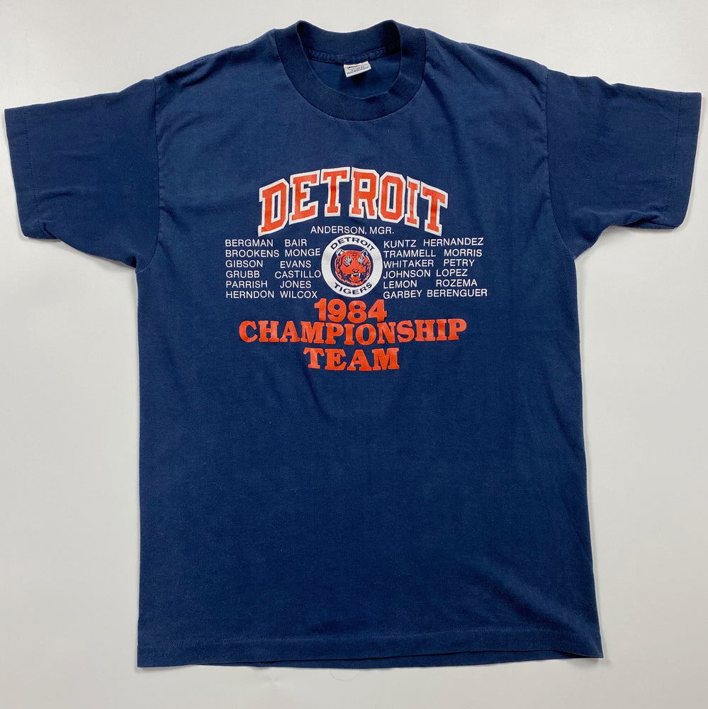 Detroit Tigers 1984 Team T-Shirt