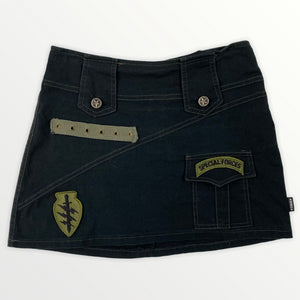 Serious Military Mini Skirt