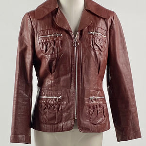 Harvest Moon Leather Jacket