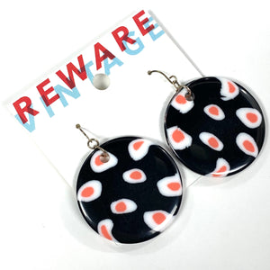 Fried Egg Earrings