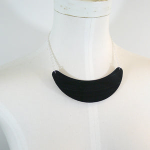 Record Bib Necklace