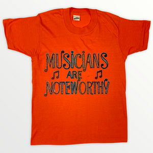Musicians Are Noteworthy T-shirt